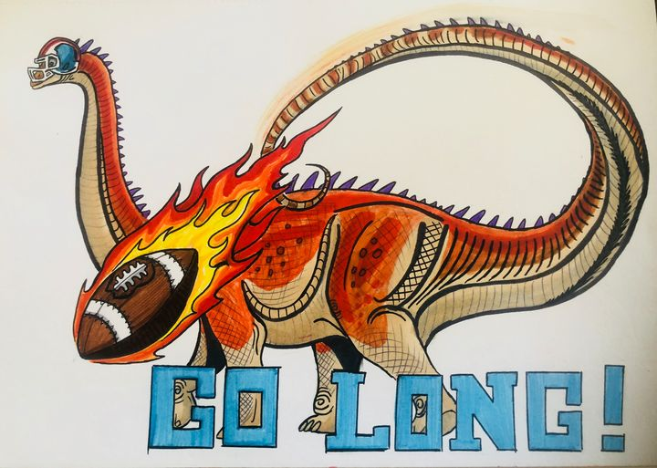 Go Long! - Stegosaurus1412
