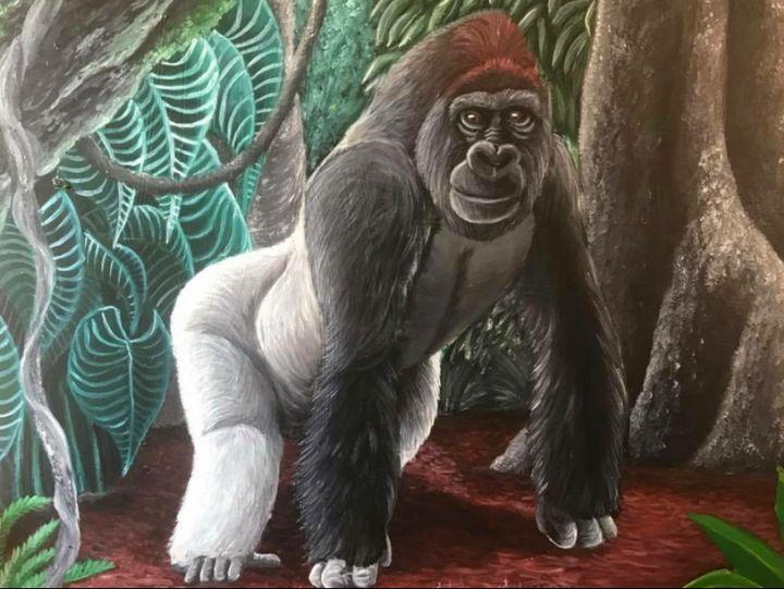 Western Lowland Gorilla - Stegosaurus1412