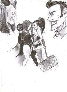 Raven VS Harley Quinn