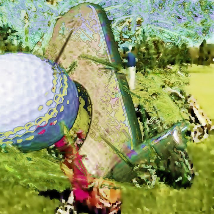 Golf - digitalart Rob Elfferich