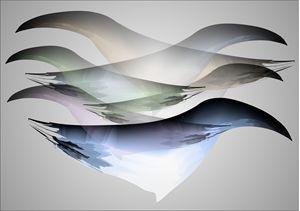 Fantasy birds - digitalart Rob Elfferich