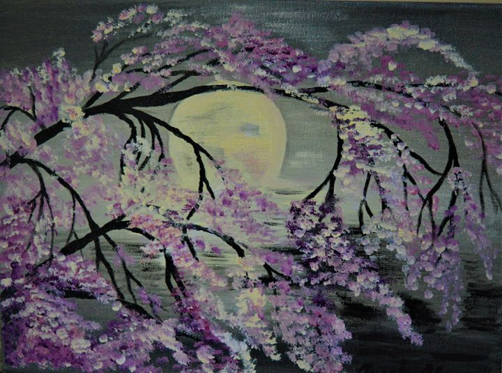 Cherry Blossom - AlecA Art