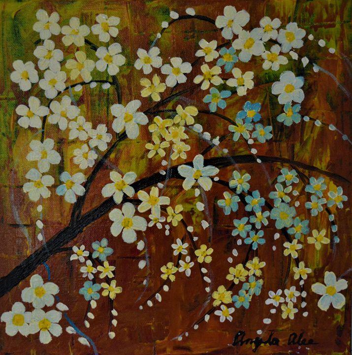 Happy flowers - AlecA Art