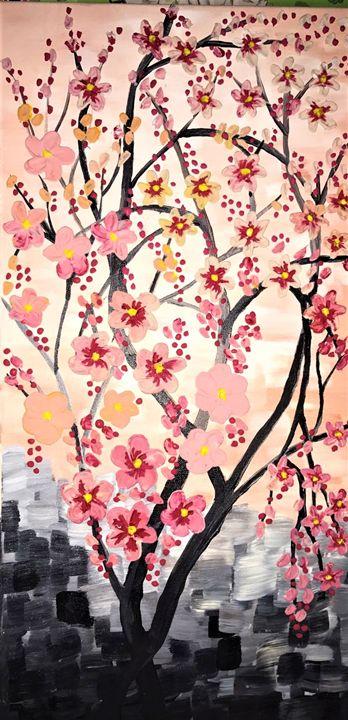 Blooming Day - AlecA Art
