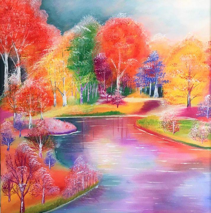 Wander Lake - AlecA Art