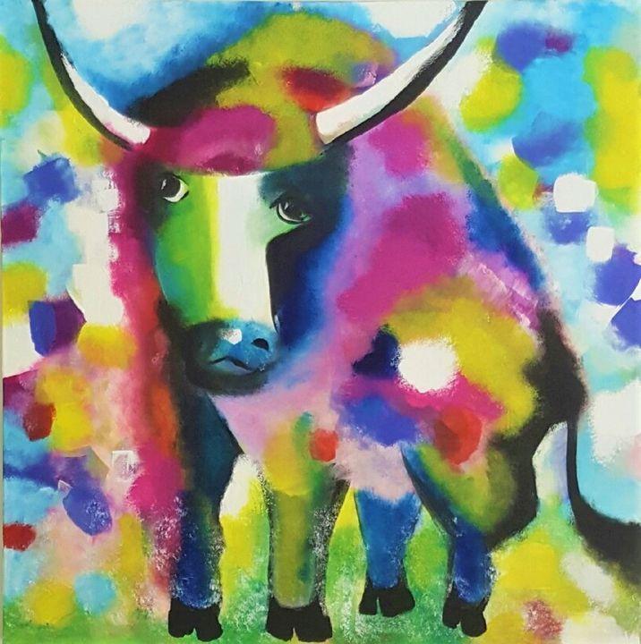 I am a Bull - AlecA Art