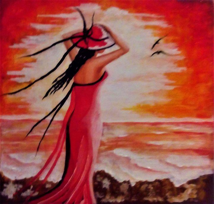 Me and Sunset - AlecA Art
