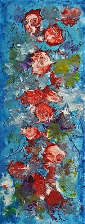 Roses Blue - AlecA Art