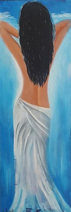 Blue Freedom - AlecA Art