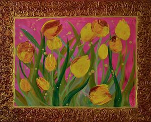 "Gold Life ""Tulips"""