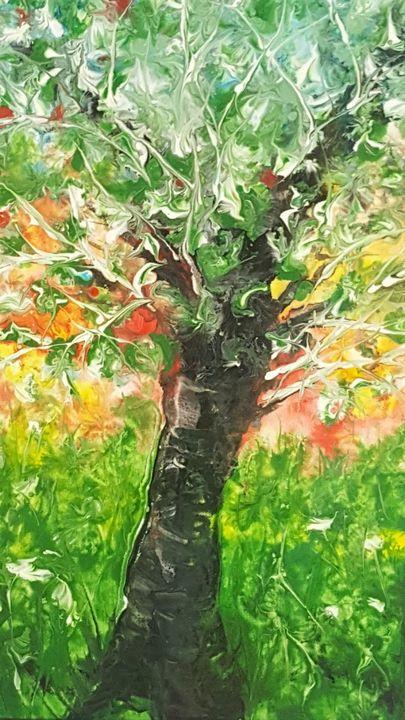Daniel's Tree - AlecA Art