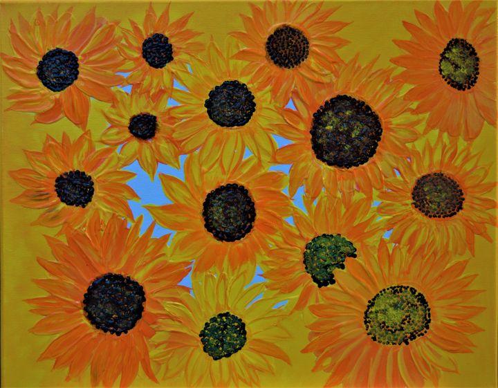 Sunflowers - AlecA Art