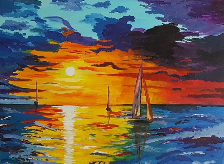 Sunset - AlecA Art