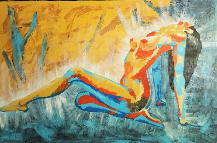 "A Woman"" - AlecA Art"