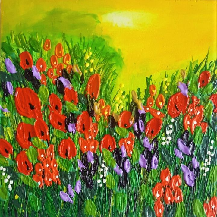 Poppies - AlecA Art