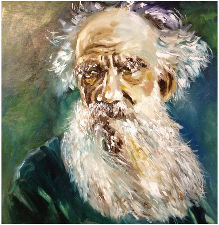 Portait of Tolstoy - THLeArt