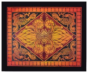 sri lankan kandy style art