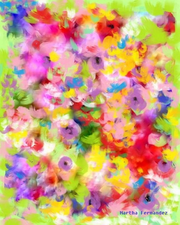 Ramillete de flores 2 - Martha Fernandez
