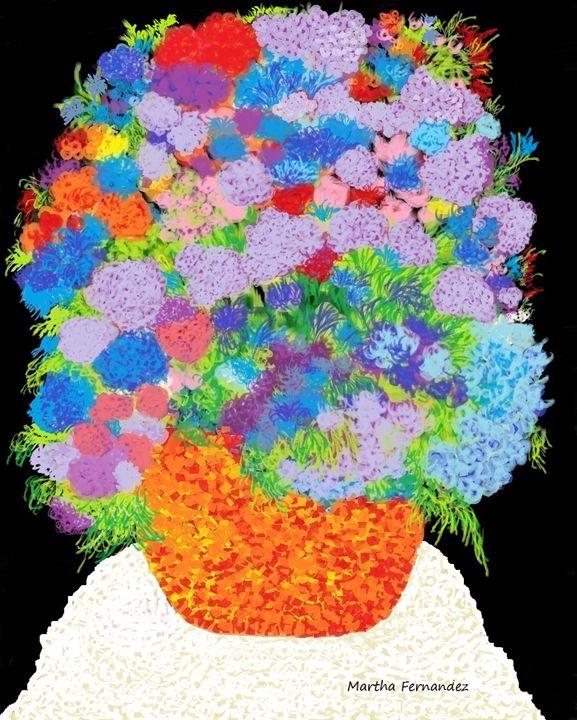 Flower composition #300 - Martha Fernandez
