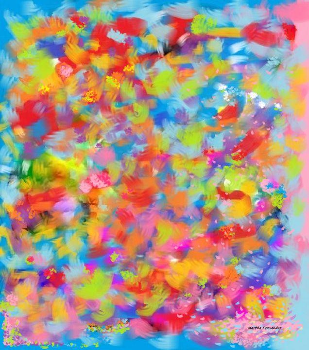 Abstract composition #15 - Martha Fernandez