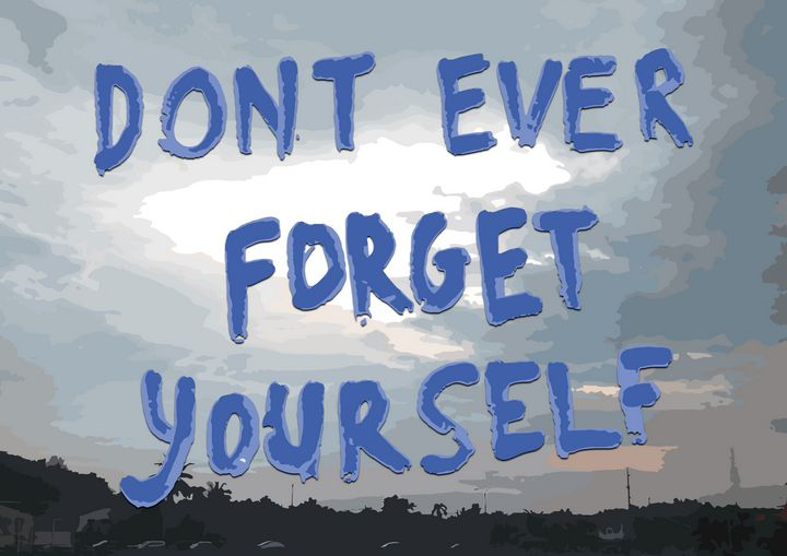 Dont Forget - syafie1104