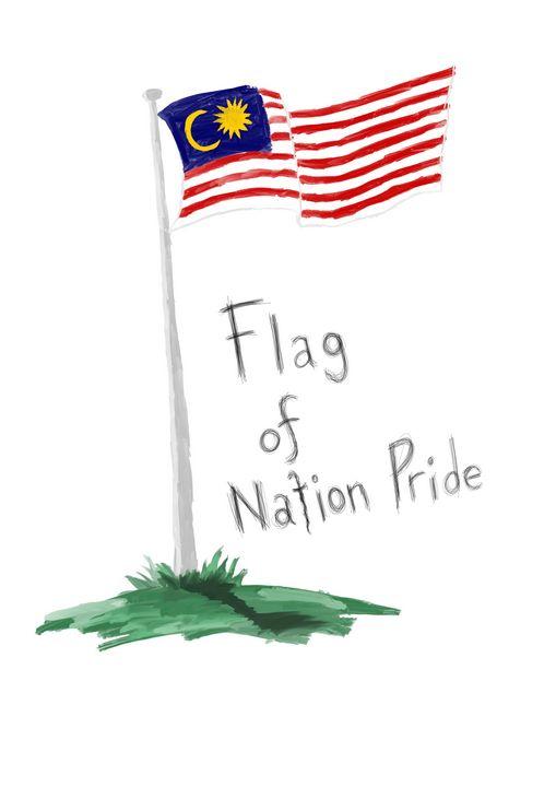 Flag of Nation Pride - syafie1104