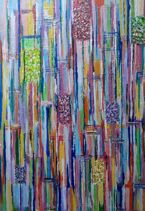 Abstract colourful windows - artbysanisa