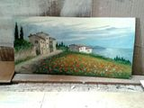 8x15in Hills of Livorno