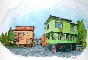 Eskişehir Odunpazarı Old Houses-Turk