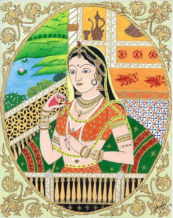 The Rajput Princess - Galleria Shweta