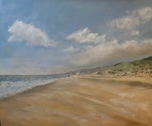 Whispering Sands - Oil on Canvas