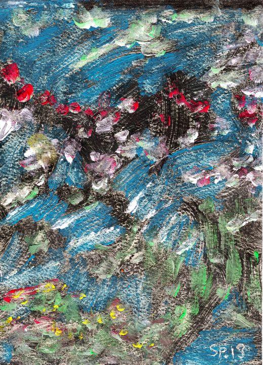 Colorist Abstract Art Landscape - Spiekly Art