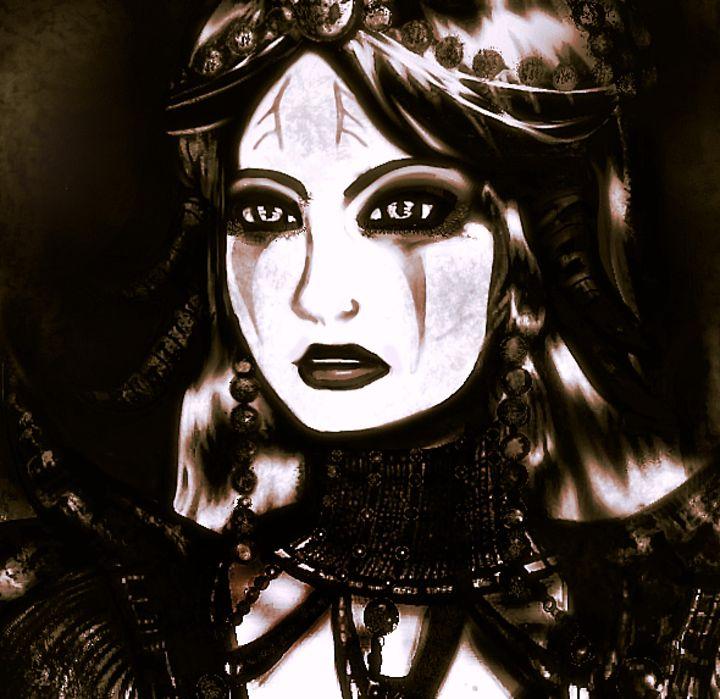 Razormaid (Sepia) - Scribblings/Photography