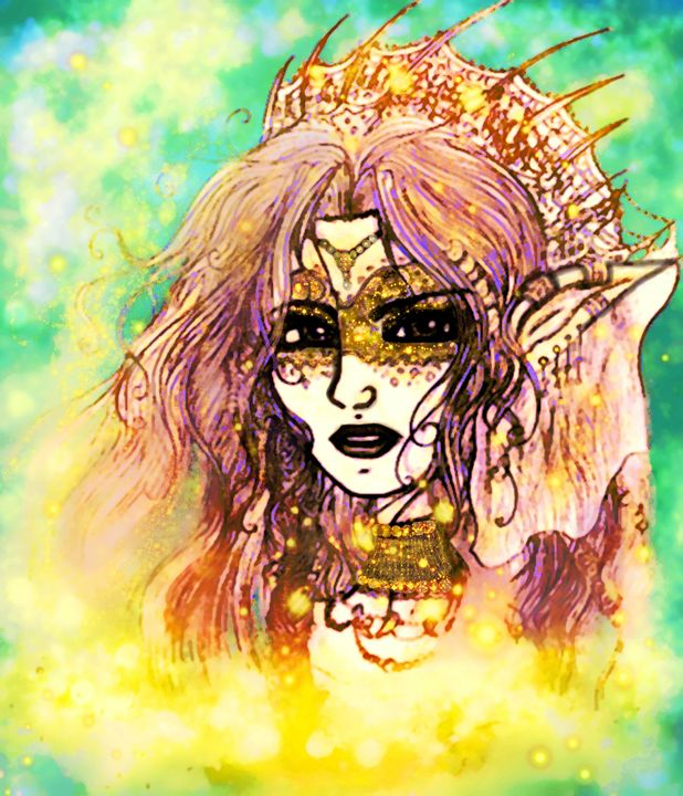 Elven empress - Scribblings/Photography