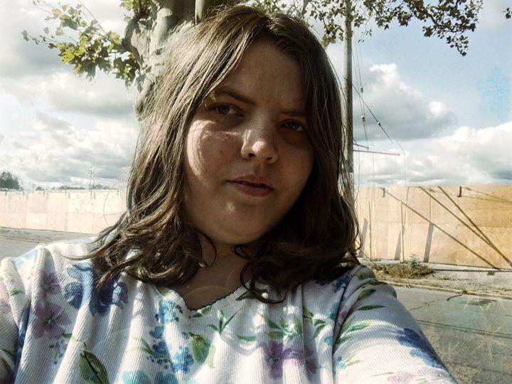 Girl outside - Cassandra Lewis