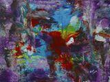 16x12in Acrylic on canvas board