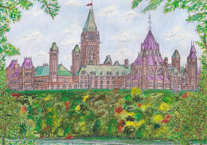 Parliament Hill, Ottawa, Canada - David McNaboe