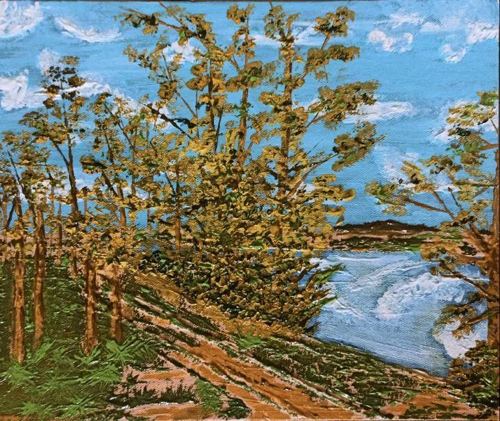 Onset of fall - Madhumita's Paintings