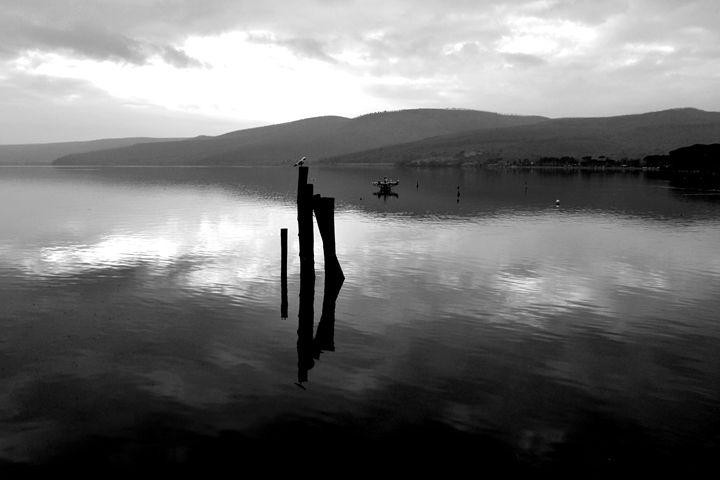 The lake of Bracciano, Italy - Aleksandra Sazonova