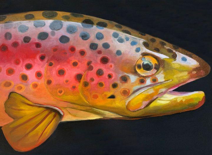 Rainbow Trout - Emma Bergman Art