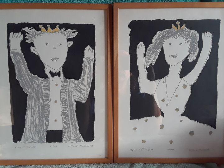 King & Queen of Targets - ArtLovers