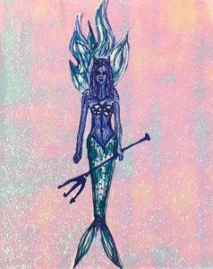 demonic mermaid