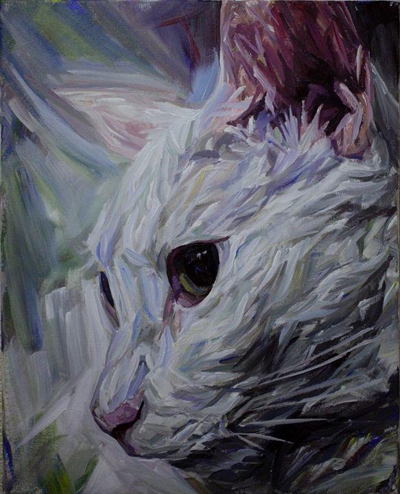 She white - Jessica Gonpra
