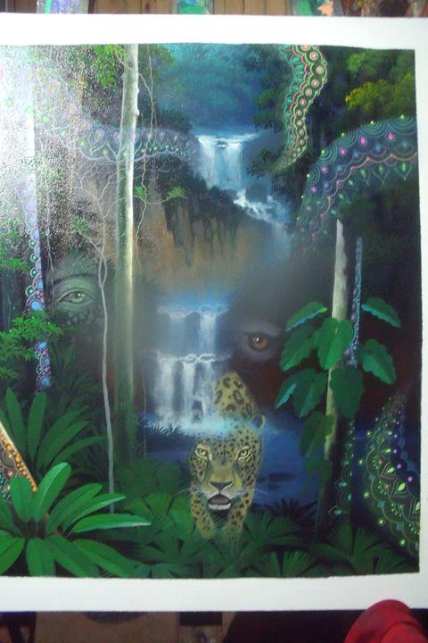 Visiones de un Leopardo Amazonico - PERUVIAN JUNGLE 2014
