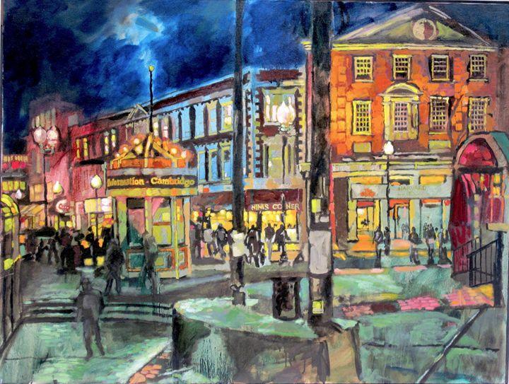 Harvard Square 1 - Sean Moore
