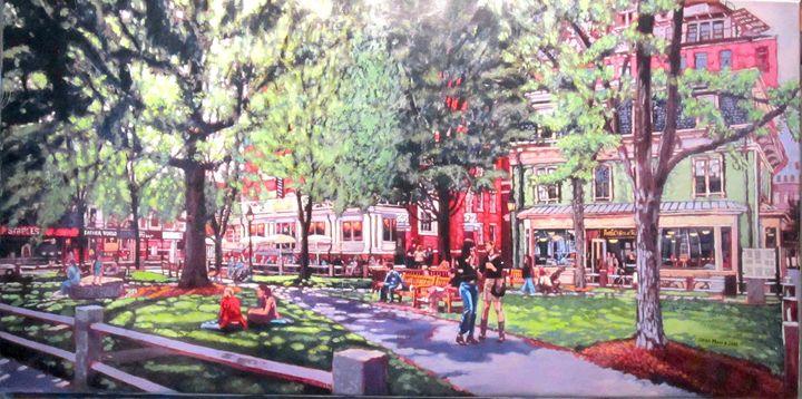Harvard Square, Winthrop Park - Sean Moore