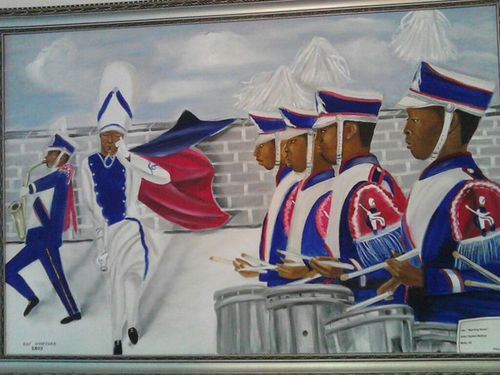Marching Drums - Ray's Art