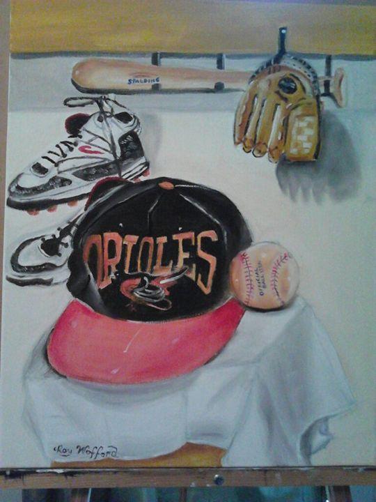 Orioles Baseball - Ray's Art