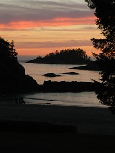 Sunst in Tofino