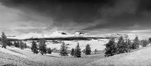The Sawtooth Mountains